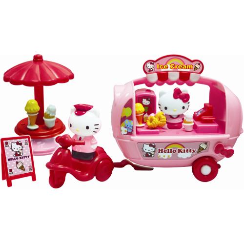Masinuta cu Inghetata Hello Kitty