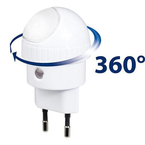 Lampa de Veghe cu Senzor de Lumina ANV-19