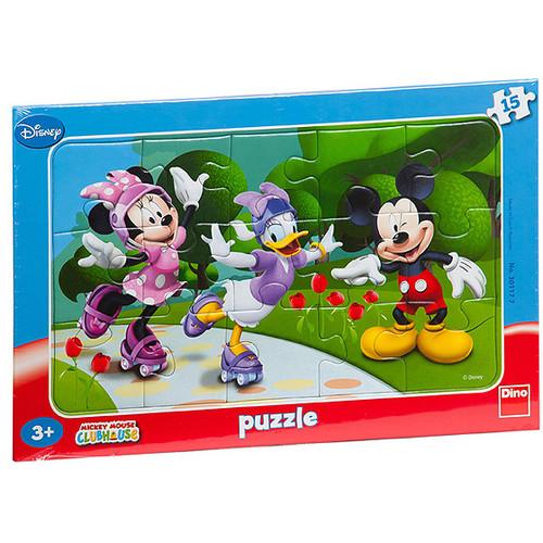 Puzzle Minnie si Prietenii 15 Piese