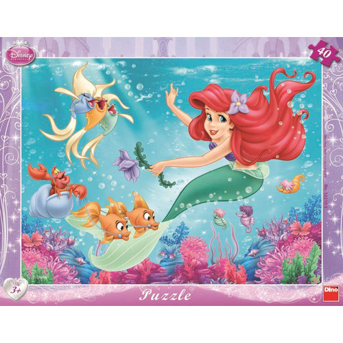 Puzzle Mica Sirena 40 Piese