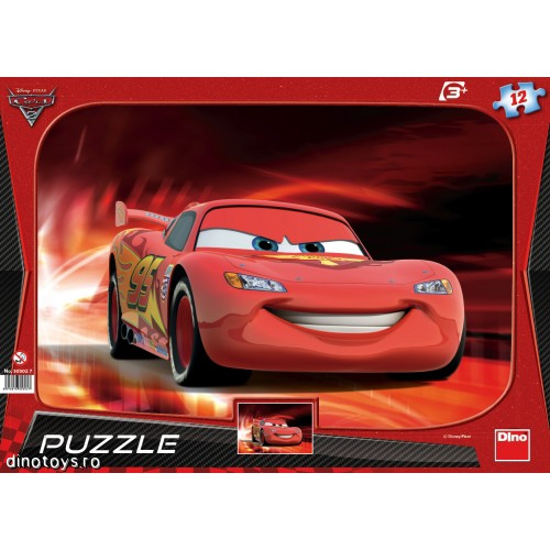 Puzzle Cars Lightning McQueen 12 Piese
