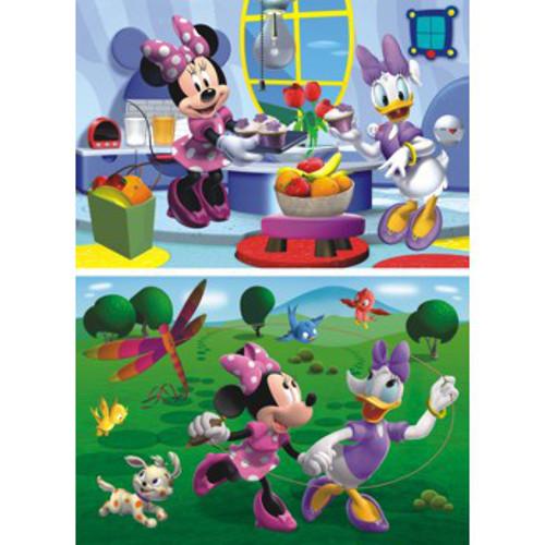 Puzzle 2 in 1 Prietena Mea Minnie 66 Piese