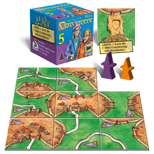 Carcassonne Mini Extensia V - Mage And Witch