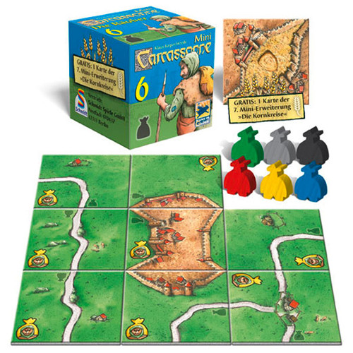 Carcassonne Mini Extensia VI - The Robber