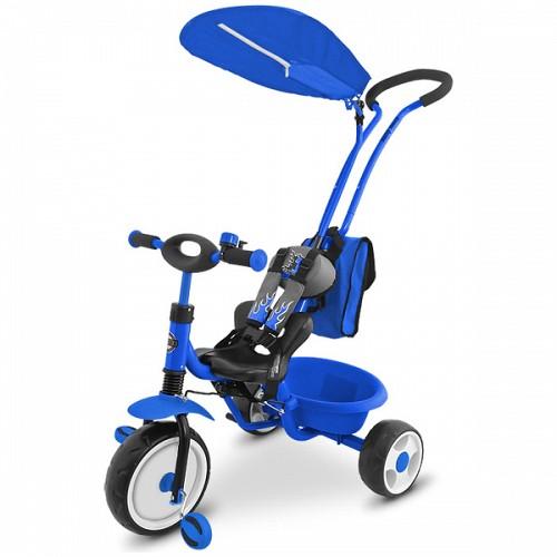 Tricicleta Boby Deluxe Ring Albastru