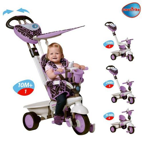Tricicleta 4 in 1  Dream Purple