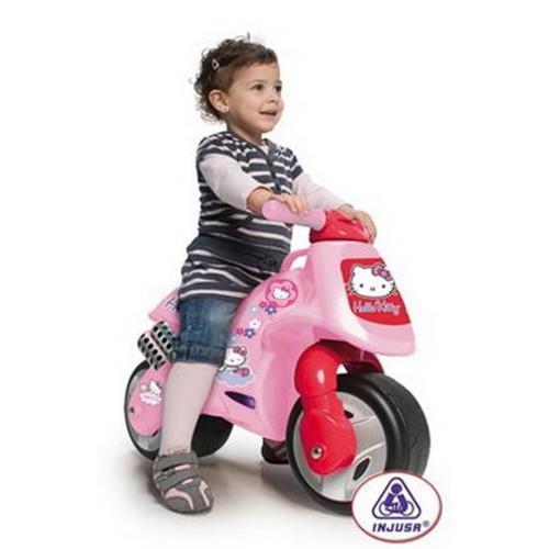 Motocicleta fara Pedale Hello Kitty