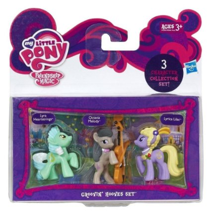 My Little Pony - Set 3 figurine