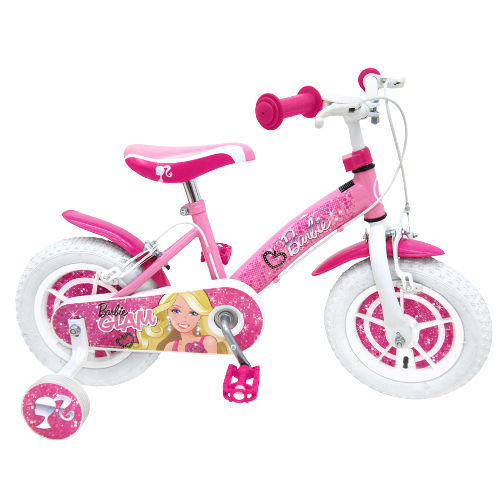 Bicicleta Barbie 12