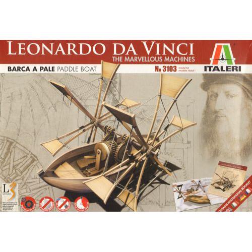 Masinarie Da Vinci - Hidrobicicleta