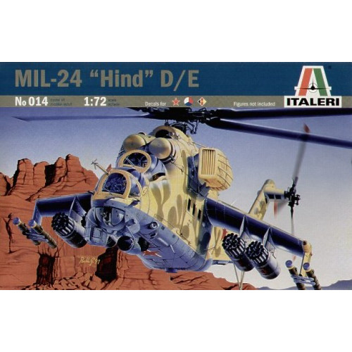 Elicopter MIL-24 Hind D/E