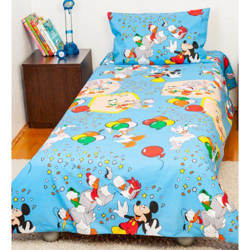 Lenjerie de Pat Mickey Mouse 1 Persoana