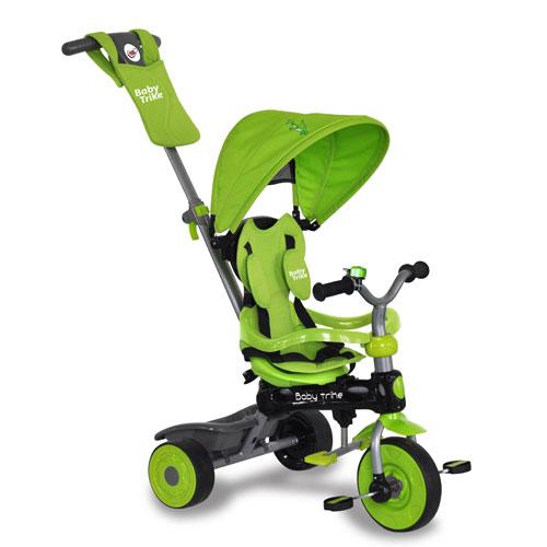 Tricicleta 4 in 1 Dino Green