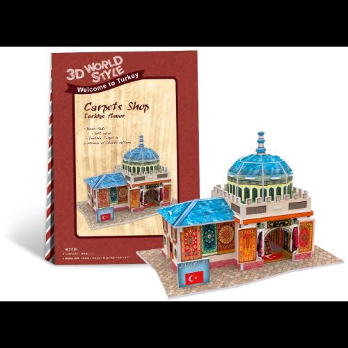 Puzzle 3D Magazin Covoare Turcia