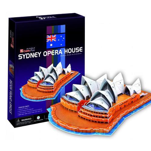 Puzzle 3D Opera din Sidney