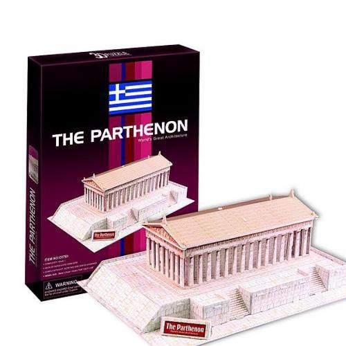 Puzzle 3D Parthenonul