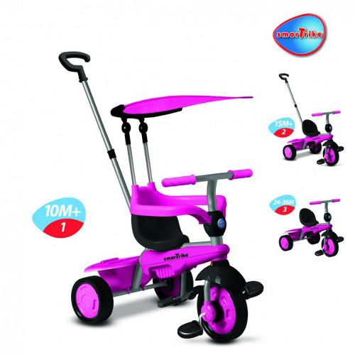 Tricicleta 3 in 1 Carnival Pink