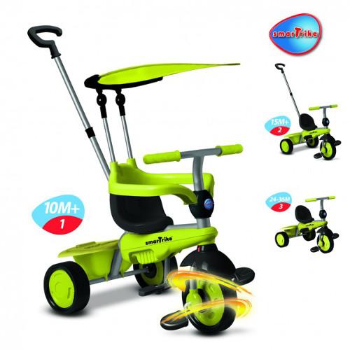 Tricicleta 3 in 1 Carnival Green
