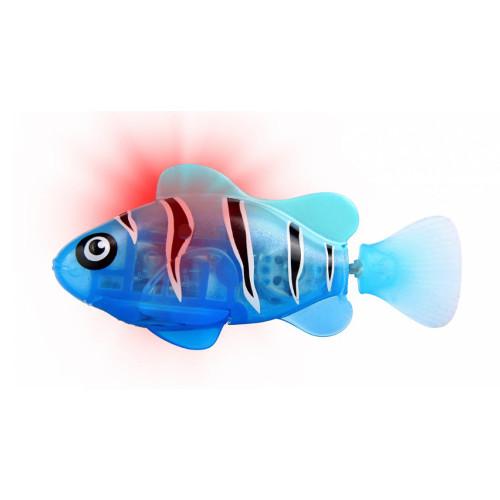 RoboFish Pestisor cu LED Albastru