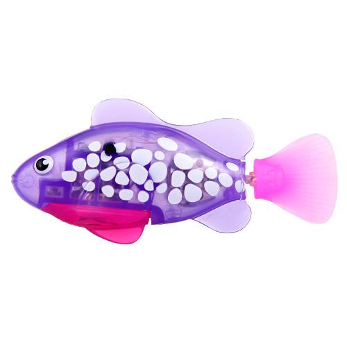 RoboFish Pestisor cu LED Mov