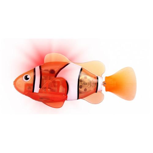 RoboFish Pestisor cu LED Portocaliu