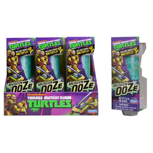 Ninja Turtles Mutagen Ooze cu Mini Figurina Testoasa