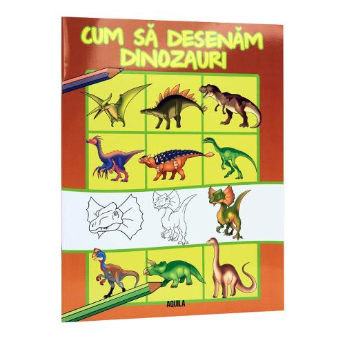 Cum Sa Desenam Dinozauri