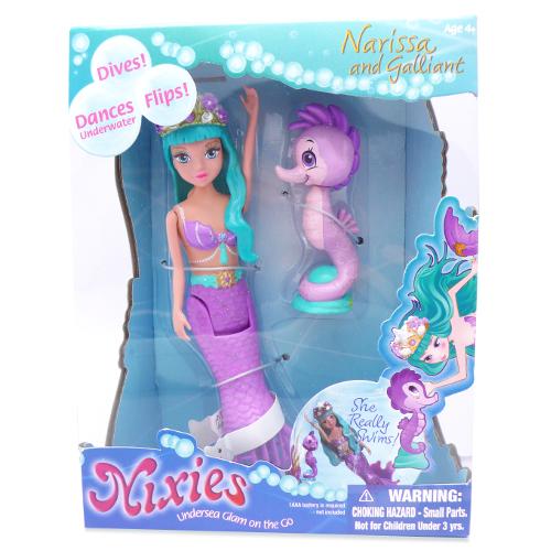 Nixies - Sirena Narissa cu Calut de Mare