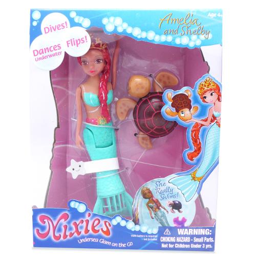Nixies - Sirena Amelia cu Broscuta Testoasa