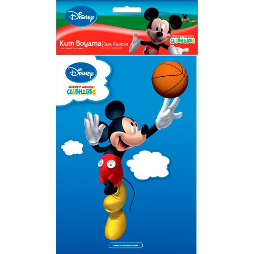 Plansa Pictura cu Nisip Mickey Mouse 23 cm