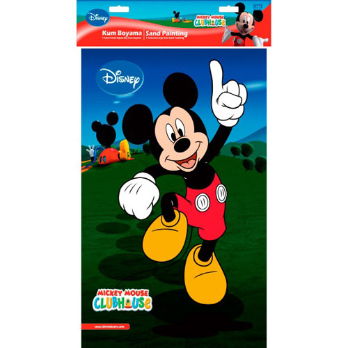 Plansa Pictura cu Nisip Mickey Mouse 47 cm