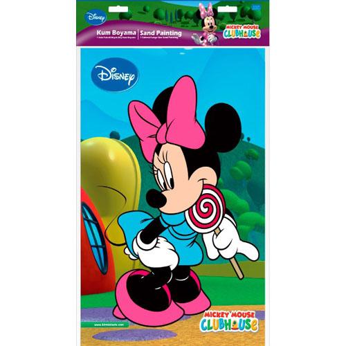 Plansa Pictura cu Nisip Minnie Mouse 47 cm