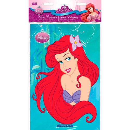 Poza Plansa Pictura cu Nisip Ariel 33 cm