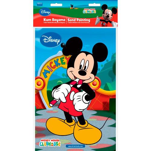 Plansa Pictura cu Nisip Mickey Mouse Acadea 33 cm
