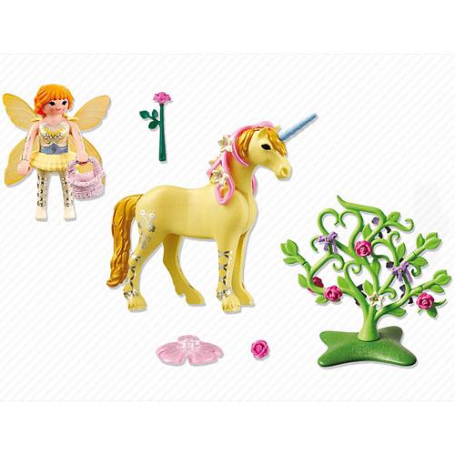 Zana Florilor si Unicornul Raza de Soare