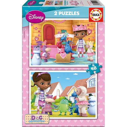 Puzzle Doctorita Plusica 2 x 48