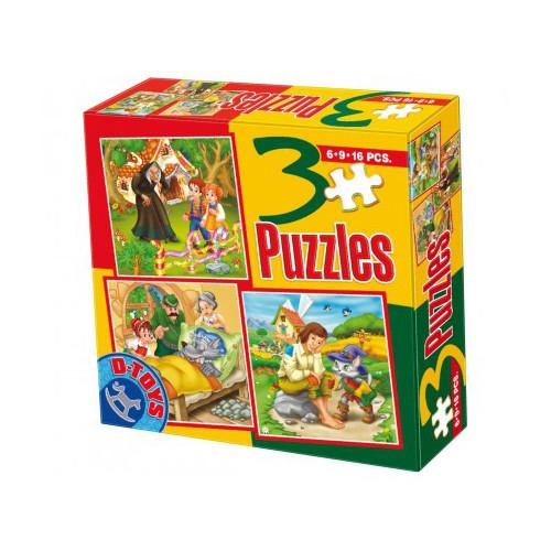 Puzzle 3 Progresiv Basme Model 5