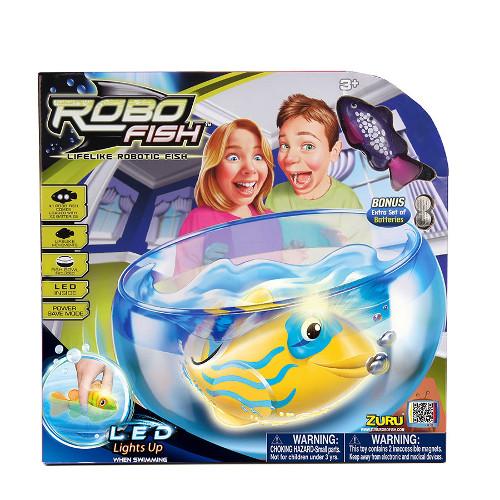 Set Robo Fish Led cu Acvariu