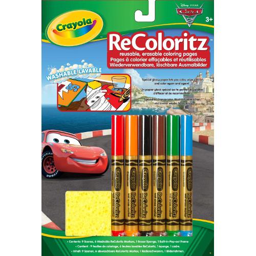 Disney Cars Re-Coloreaza