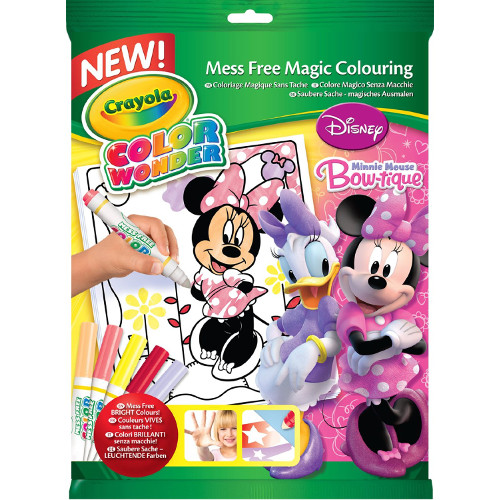 Set Carte de Colorat Minnie Mouse