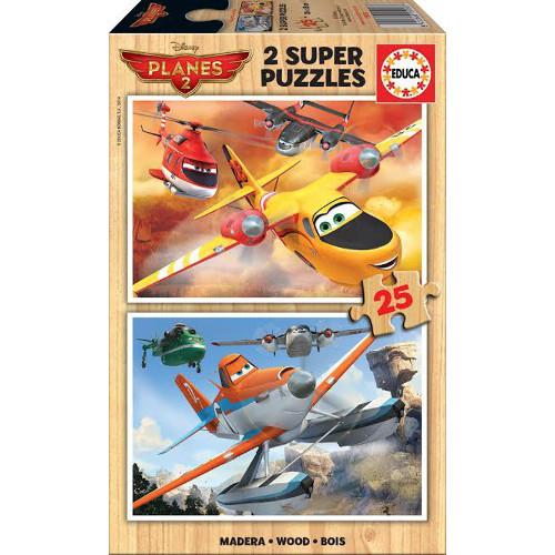 Puzzle Planes 2x25
