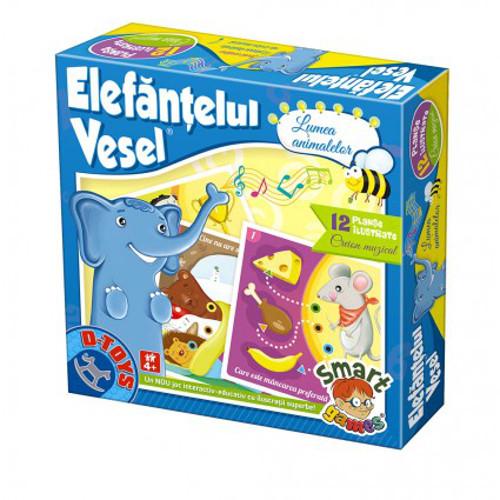 Elefantul Vesel - Lumea Animalelor