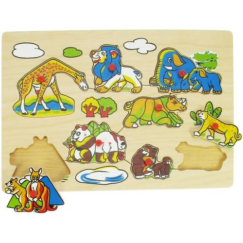 Puzzle - Animale din Salbaticie