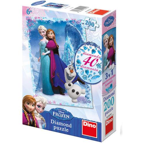 Diamond Puzzle - Frozen - 200 piese