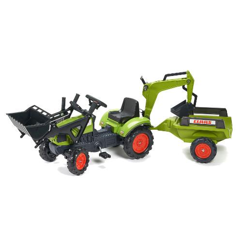 Tractor Claas Arion cu Cupa si Remorca