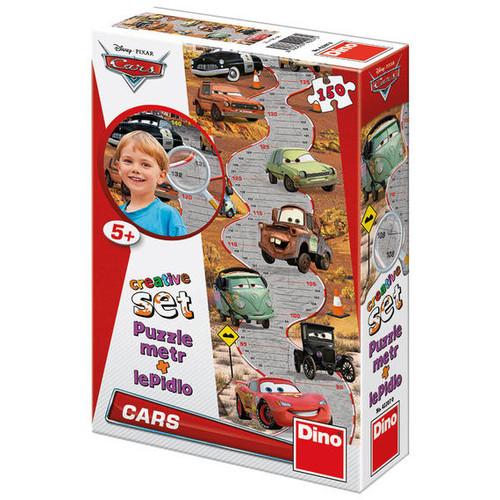 Puzzle cu Masuratoare - Cars 150 Piese