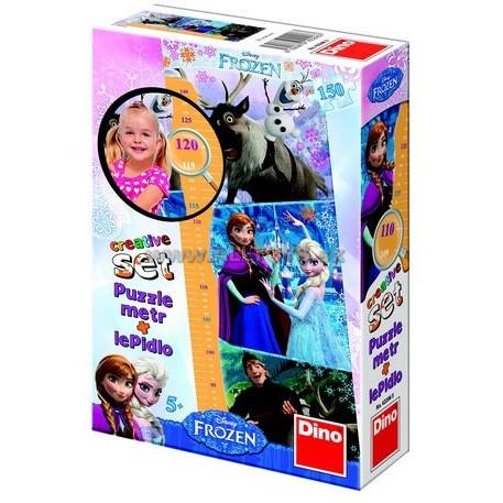 Puzzle cu Masuratoare - Frozen - 150 Piese