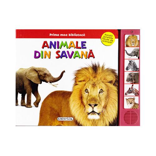 Prima Mea Biblioteca - Animale din Savana