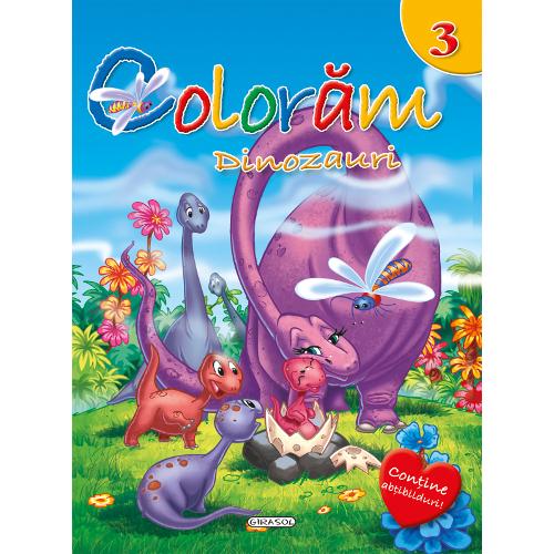 Coloram Nr.3 - Dinozauri
