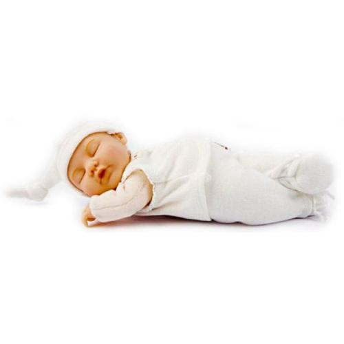 Papusa Bebe cu Vesta si Pantalonasi